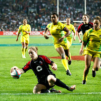 Canadian women's team handily win the Women's competition beating Australia.