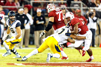 NCAA FOOTBALL: NOV 21 Cal at Stanford