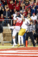 NCAA FOOTBALL: NOV 28 Notre Dame at Stanford