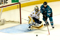 NHL: MAY 12 2nd Round - Game 7 - Predators at Sharks