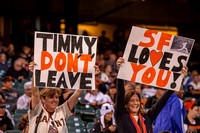 Sep 26, 2013: Tim Lincecum (55) last game is the MLB game between the SF Giants and the LA Dodgers at AT&T Park in San Francisco.  Final score: Giants 3, Dodgers 2 after 9 innings.
