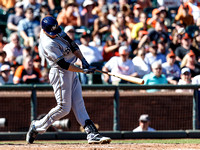 MLB: AUG 31 Brewers at Giants