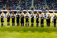 SOCCER: NOV 10 Women's - USA v Romania