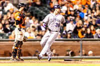 MLB: OCT 02 Rockies at Giants