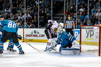 NHL: NOV 25 Blackhawks at Sharks