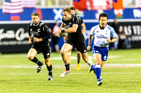 RUGBY: MAR 04 USA Sevens - New Zealand v Russia