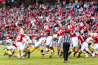 November 30-2013: NCAA PAC 12 football game between the Stanford Cardinal and the Notre Dame Fighting Irish at Stanford Stadium, Palo Alto, CA Final Score: Stanford  27, Notre Dame 20.