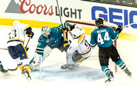 NHL: APR 29 2nd Round - Game 1 - Predators at Sharks