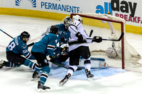 NHL: APR 18 Round 1 - Game 3 - Kings at Sharks