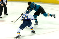 NHL: MAY 19 Western Conference Finals - Game 3 - Blues at Sharks