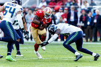 Jan 1, 2017: Seahawks at 49ers
