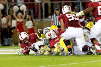 November 7-2013: during the NCAA PAC12 match between Stanford Cardinal and Oregon Ducks at Stanford Stadium, Palo Alto CA. Final score- Stanford Cardinal 26, Oregon Ducks 20