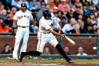 MLB: AUG 30 Brewers at Giants