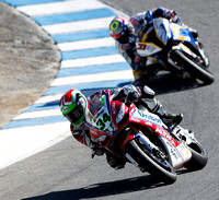 Sep 29, 2013: Davide Giugliano #34 at the Corkscrew during World SuperBike race #2 at the WSBK World Championship - Monterey Round held September 27-29 at Mazda Raceway Laguna Seca CA