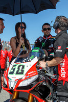 Sep 29, 2013: Eugene Laverty on the grid for World SuperBike race #2 at the WSBK World Championship - Monterey Round held September 27-29 at Mazda Raceway Laguna Seca CA