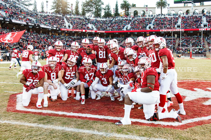 notre dame stanford score last ncaa football game