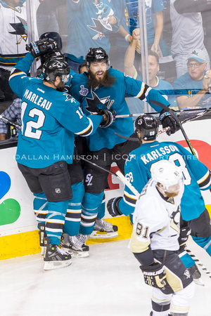 NHL: JUN 12 Stanley Cup Final - Game 6 - Penguins at Sharks
