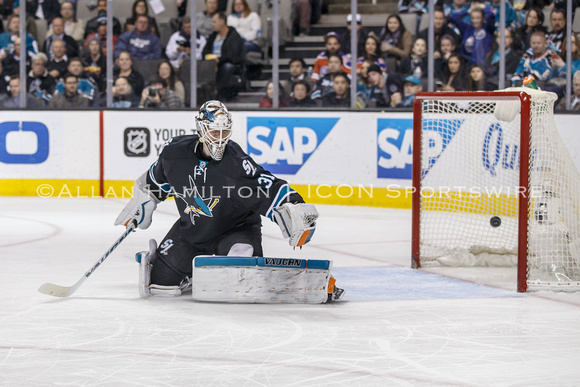NHL: JAN 26 Oilers at Sharks