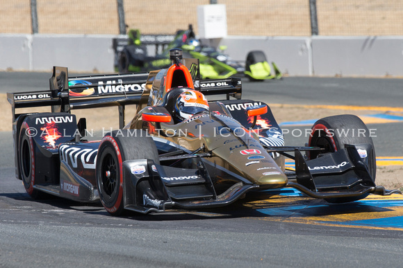 AUTO: SEP 18 IndyCar - GoPro Grand Prix of Sonoma