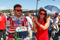 Sep 29, 2013: Niccolo Canepa on the grid for World SuperBike race #2 at the WSBK World Championship - Monterey Round held September 27-29 at Mazda Raceway Laguna Seca CA