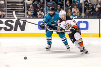 NHL: NOV 26 Ducks at Sharks