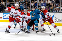 NHL: DEC 10 Hurricanes at Sharks