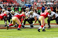 NFL: NOV 06 Saints at 49ers