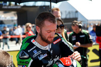 Sep 29, 2013: Tom Sykes on the grid for World SuperBike race #2 at the WSBK World Championship - Monterey Round held September 27-29 at Mazda Raceway Laguna Seca CA