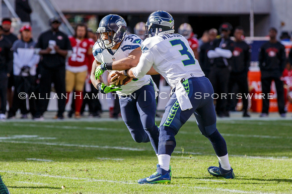NFL: JAN 01 Seahawks at 49ers