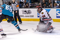 NHL: JAN 31 Blackhawks at Sharks