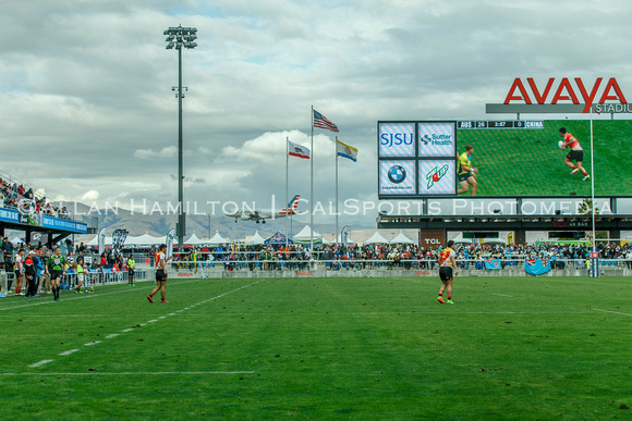 NOV 4, 2017: RUGBY Silicon Valley Sevens