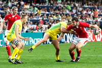 Game 7: Wales vs Australia- Wales takes this one 19-14 on their way to 2nd place in HK.