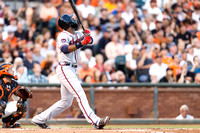 MLB: MAY 13 Braves at Giants