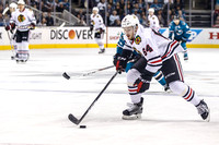 NHL: NOV 23 Blackhawks at Sharks