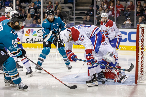 NHL: OCT 17 Canadiens at Sharks