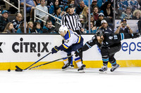 NHL: MAR 16 Blues at Sharks